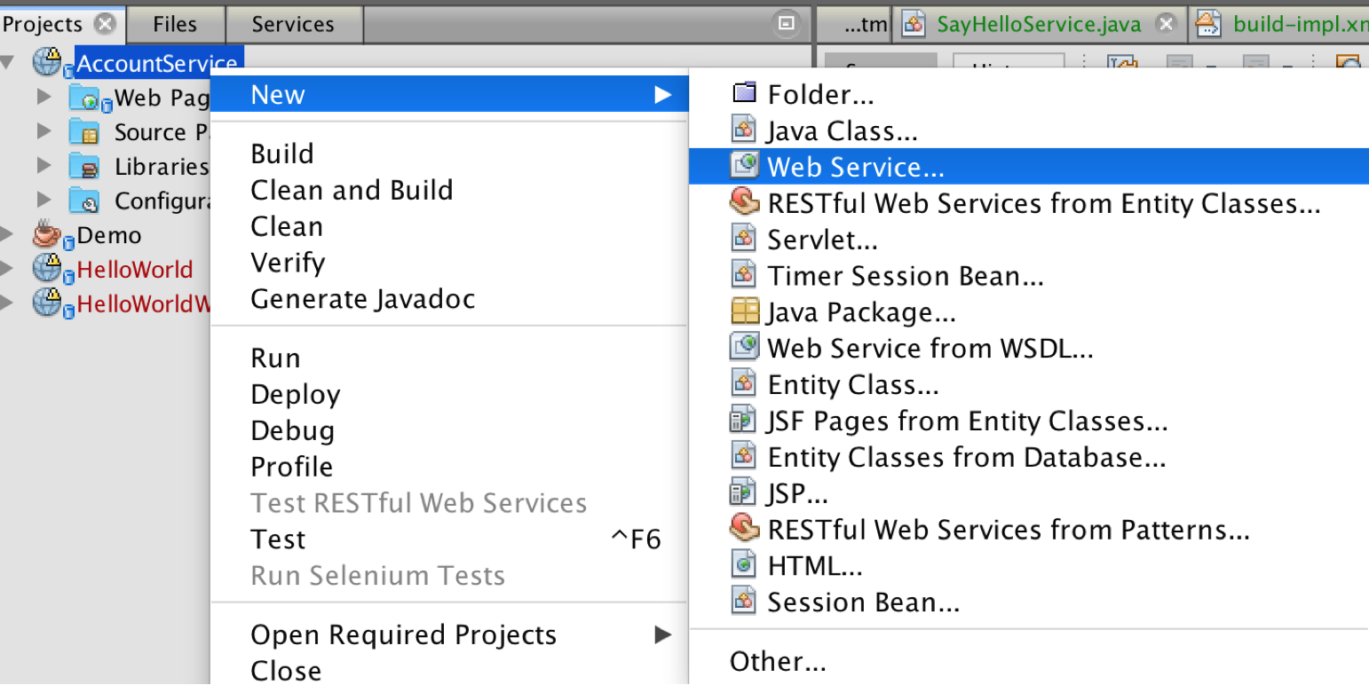 Creating a simple web service using JAX-WS and JAXB - Technical